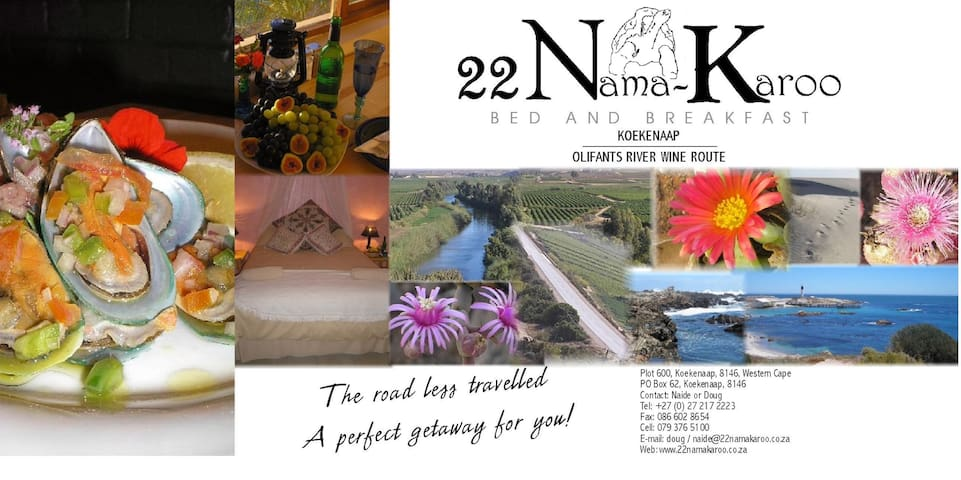 22 Nama-Karoo Bed & Breakfast CC - Olifants River Settlement