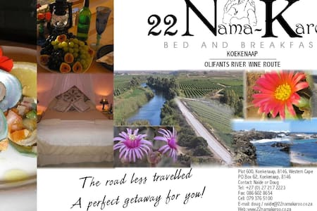 22 Nama-Karoo Bed & Breakfast CC