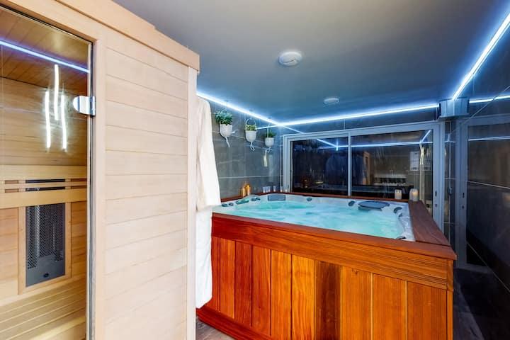 MickeyRelax Maison spa sauna près Disneyland Paris