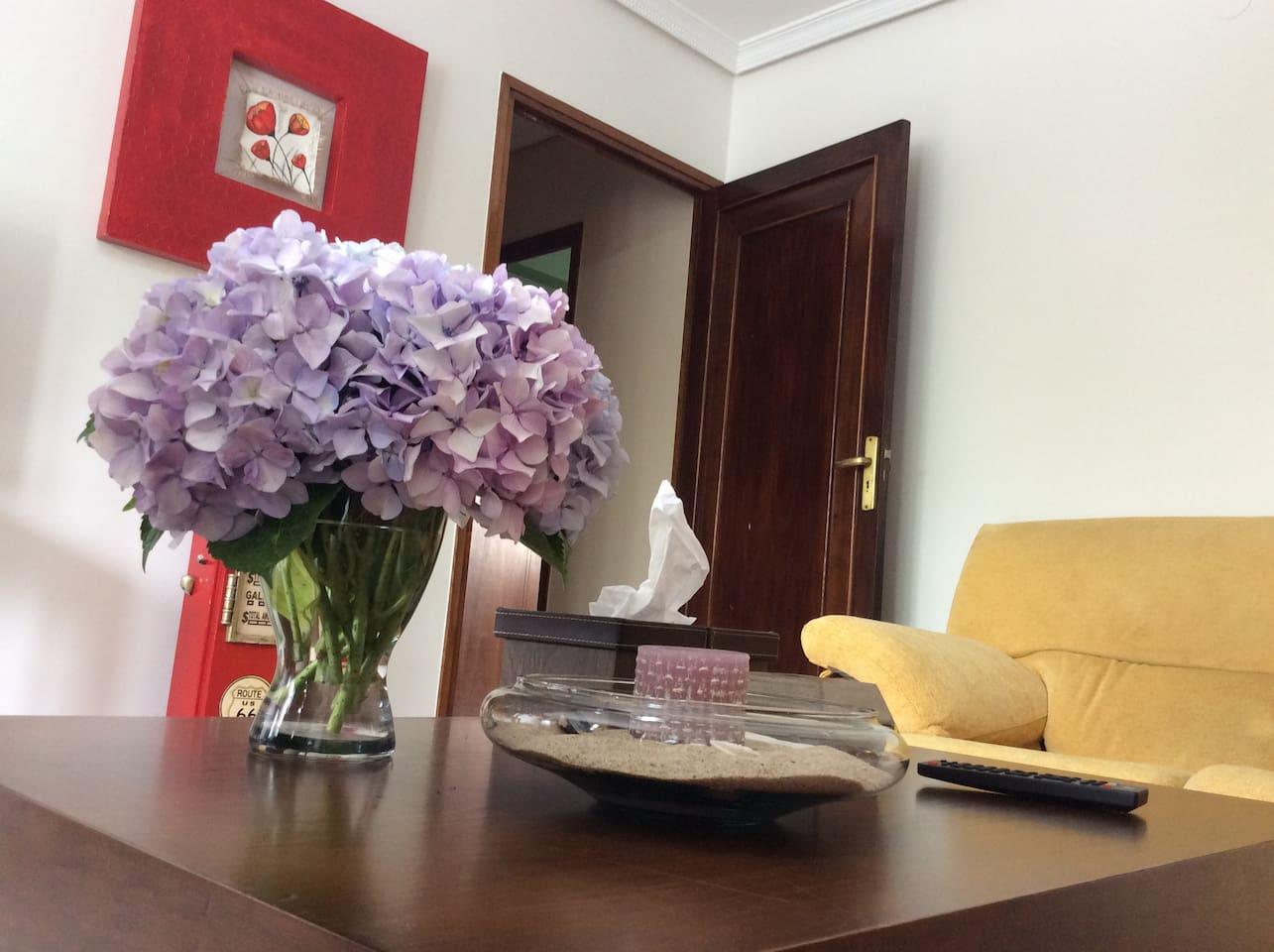 Nos gustan los detalles y las flores