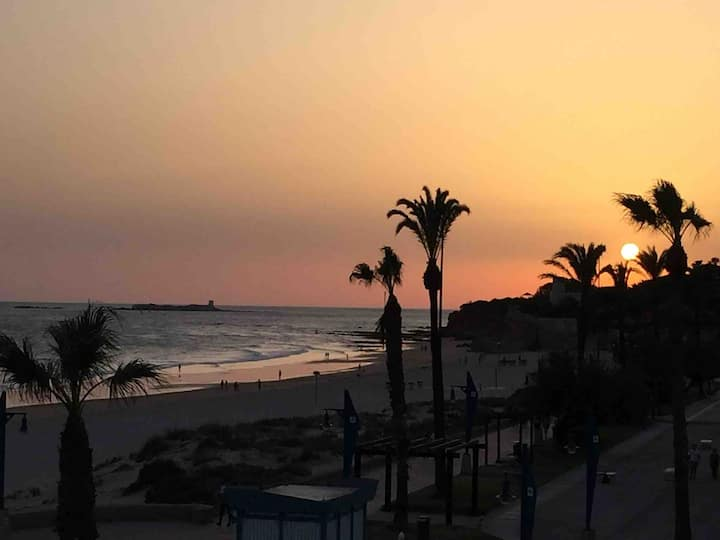 Villa a 300m playa, a/a, wifi,  especial familias