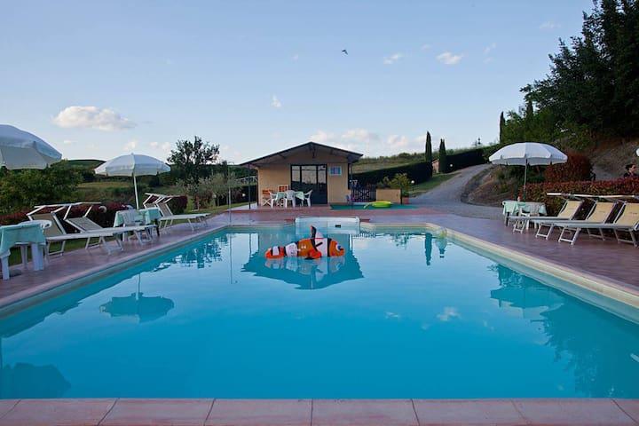 """""""Il Glicine"""" apartment with pool"""
