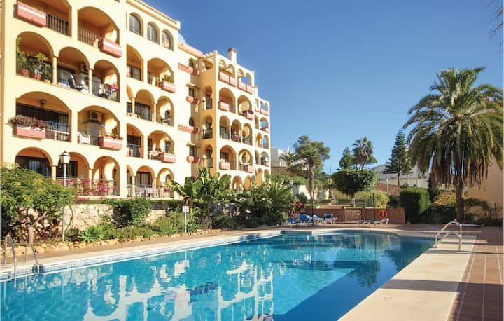 Holiday apartment with 2 bedrooms on 60m² in Mijas Costa