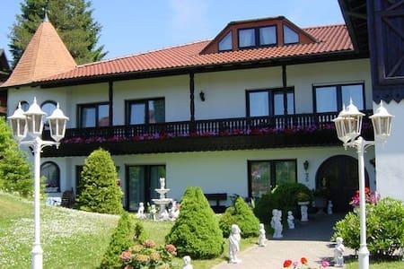 Pension Jägersruh -Balkon/Terrassenzimmer- - Fichtelberg - Hus