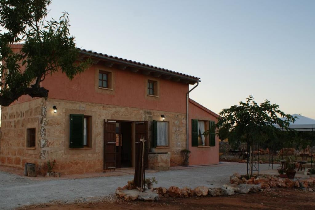 Finca can mollet holiday homes for rent in santa margarita islas baleares spain - Impressive house with tranquil environment to get total relaxation ...