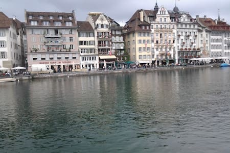 Bright room in Lucerne - Luzern