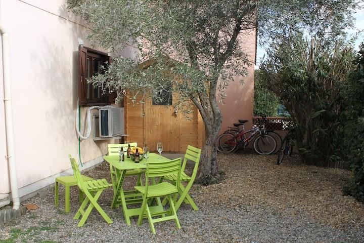 Portiragnes-Plage : maison dans résid. de vacances