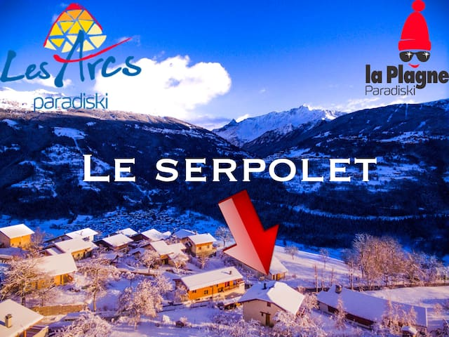 """the """"serpolet"""" a mountain flat with a great view."""