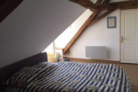 Chambre d'hôte bord de Sarthe proche Angers - Briollay - ゲストハウス