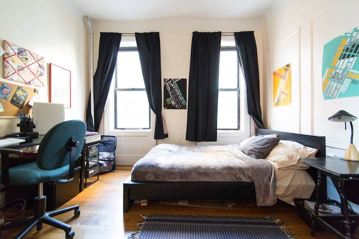 Master Bedroom in Beautiful Ft. Greene 2 BR