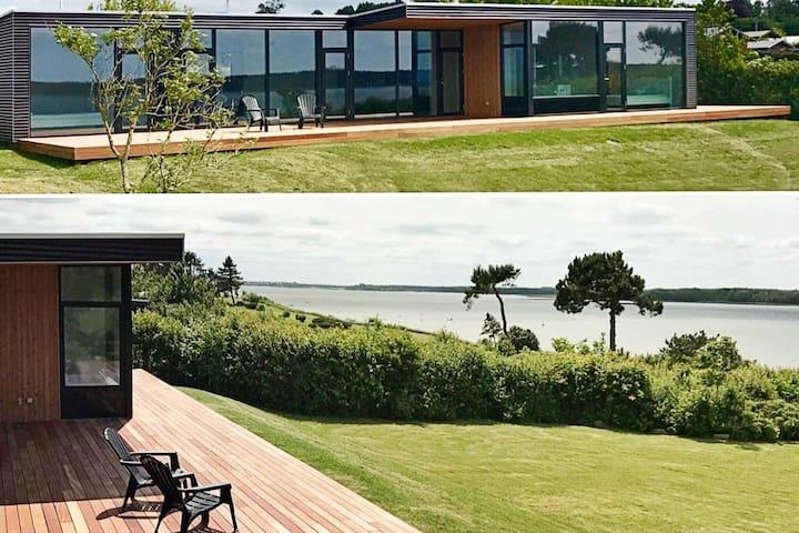 Casa vacanze d'epoca a Hovedstaden con terrazza coperta
