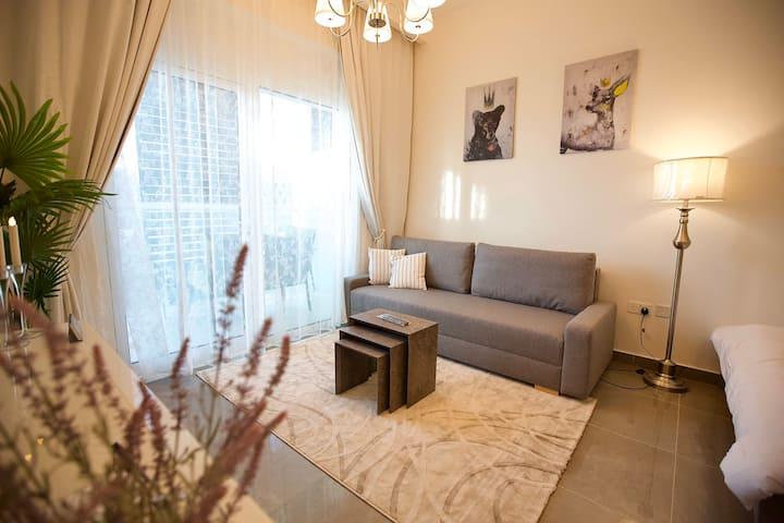 Brand new luxury apartment in Masdar city 203A