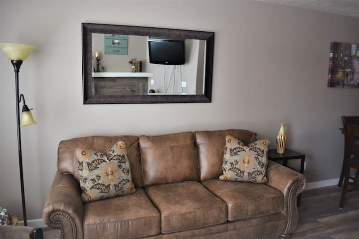 Family room -pull out queen sofa