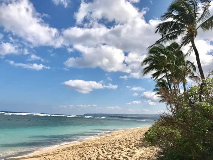 Beach Front Paradise! Waialua