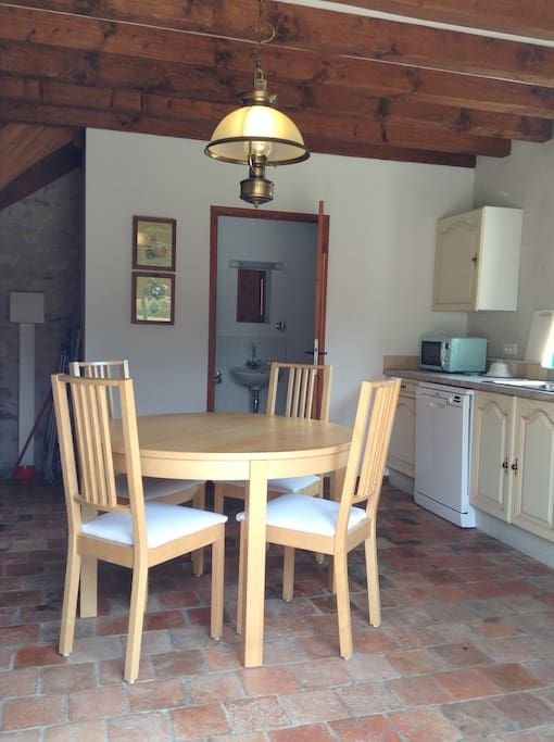 Le Pigeonnier Kitchen Diner
