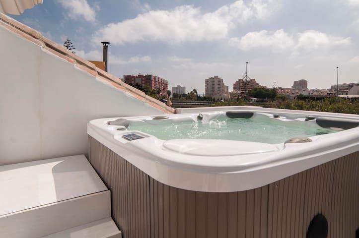 Casa Los Pacos Fuengirola a 400m de la playa