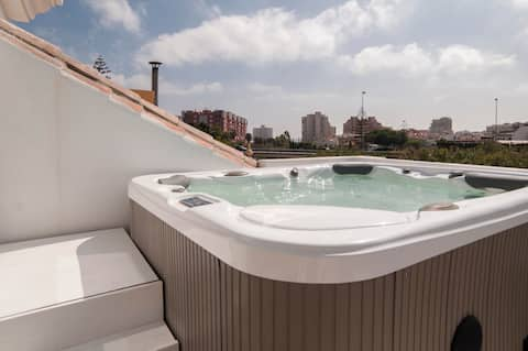 Casa Los Pacos Fuengirola 400m from the beach