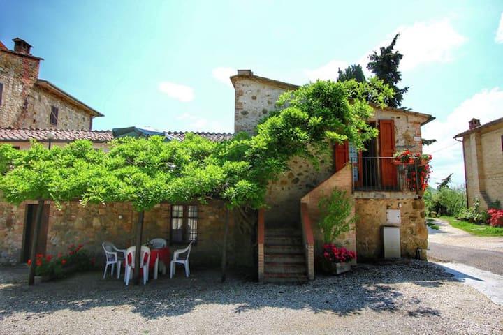 Agriturismo Bellavista OLIVIERA - radicondoli - Byt