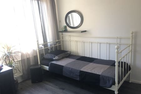 SINGLE ROOM 16M2, WITH BED, DESK & SEATS