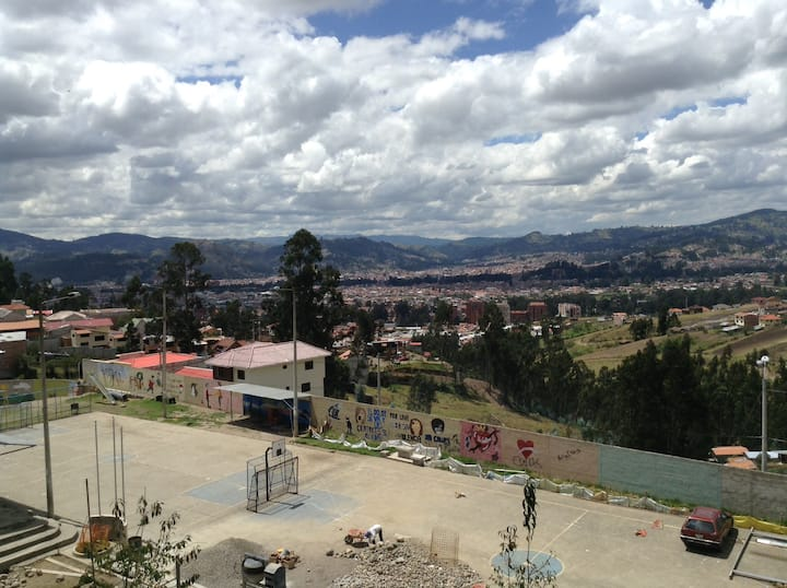 Apartment with beautiful balcony view of Cuenca