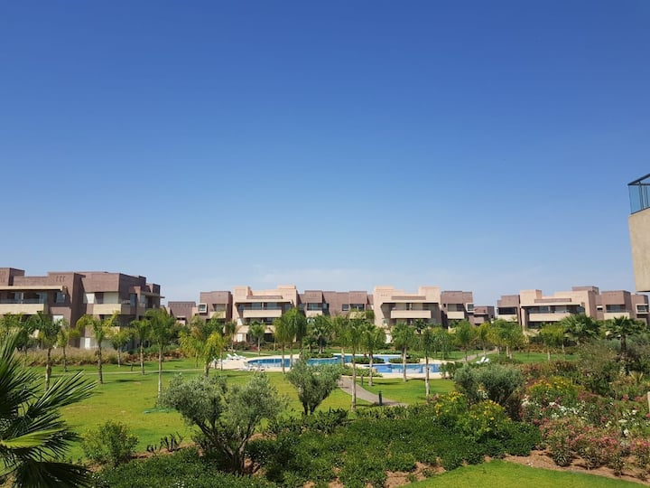 Cosy Loft Best View on Atlas Mountains Pool & Golf