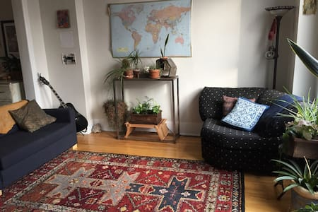 Cozy Private Room in a Lively Area - Chicago - Apartment