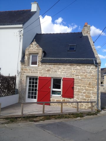 charmante maison de pêcheurs (50m2) Bretagne sud - Plouhinec - Dom