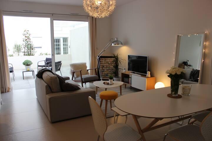 T3 + terrasse + parking - Montpellier - Apto. en complejo residencial
