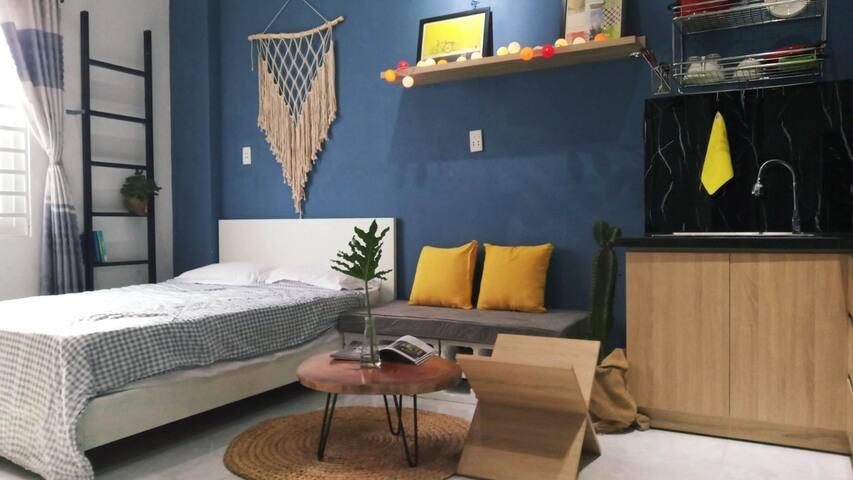 Ocean Moutain Quiet Studio Room 1bed 1kit 204 2fl