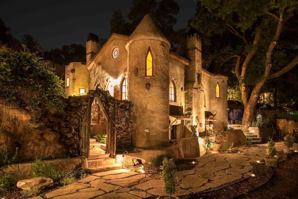 Castle by night