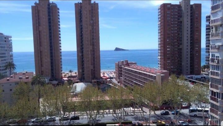 Apartamento 2 línea de playa,vistas al mar 9.3