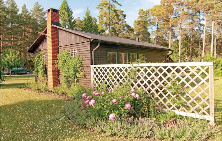 Holiday cottage with 1 bedroom on 50m² in Lärbro