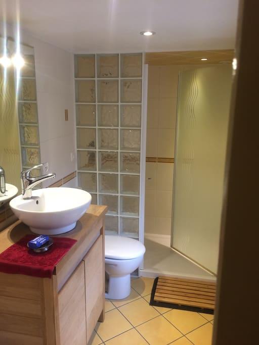 Salle de bain (wc, douche)