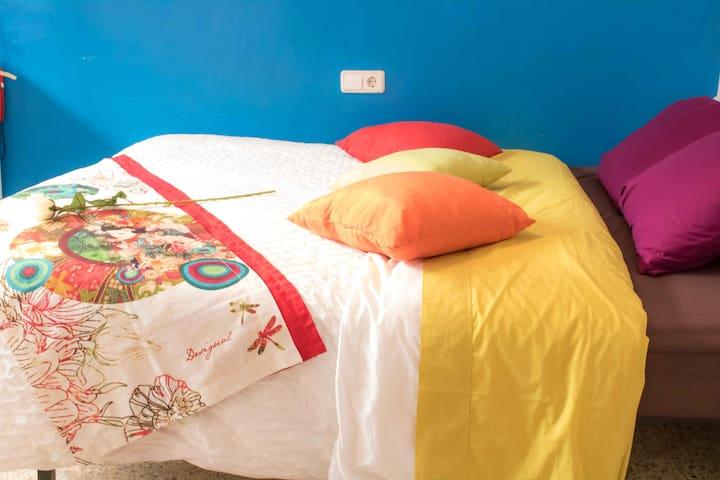 CASTILLEJOS - Double ROOM IN SHARED FLAT - Barcelona - Casa