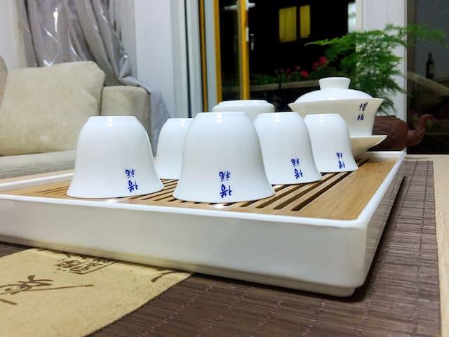 天目湖畔:春雪小院—茶之趣