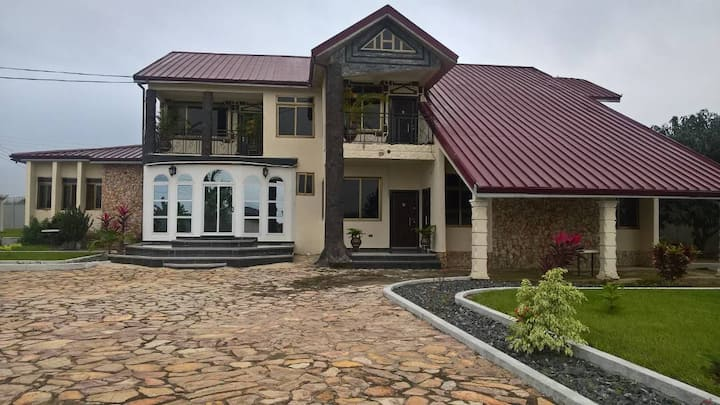 Stone Cladding House
