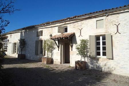 Magnifique longere en pierre - Pellegrue - Huis