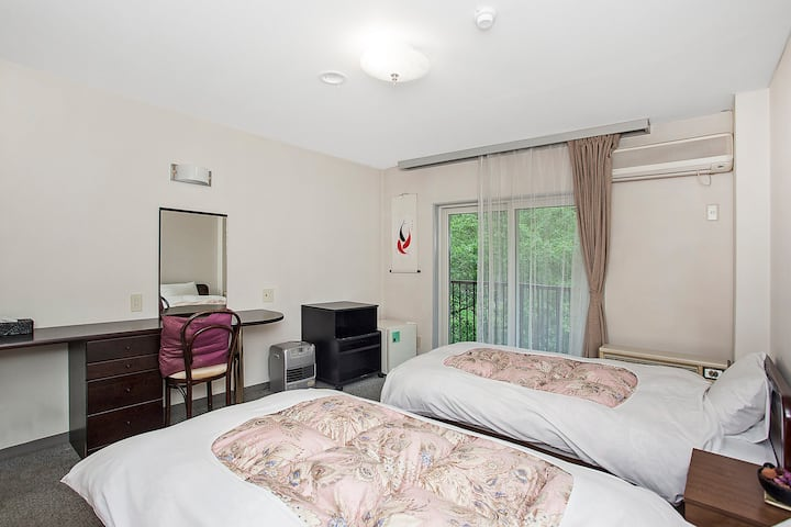 Tenjin Lodge Minakami, Twin Bedroom