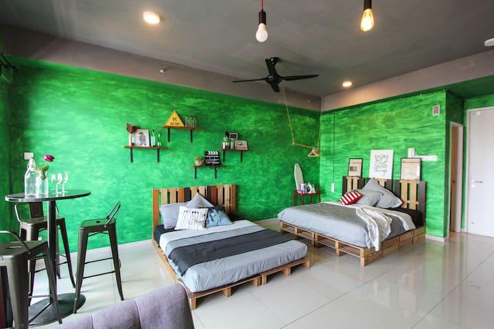 Green Theme I-City Studio Shah Alam near Uitm SCCC