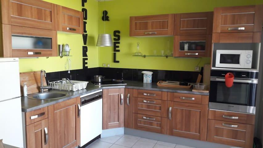 Appartement 80 m2 terrasse - 5/6 personnes - Grenoble - Lägenhet