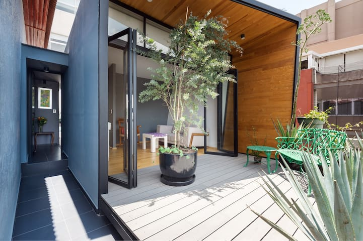 New Loft con deck en San José Insurgentes.
