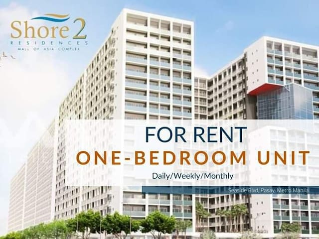 1 Bedroom unit with balcony in Shore 2