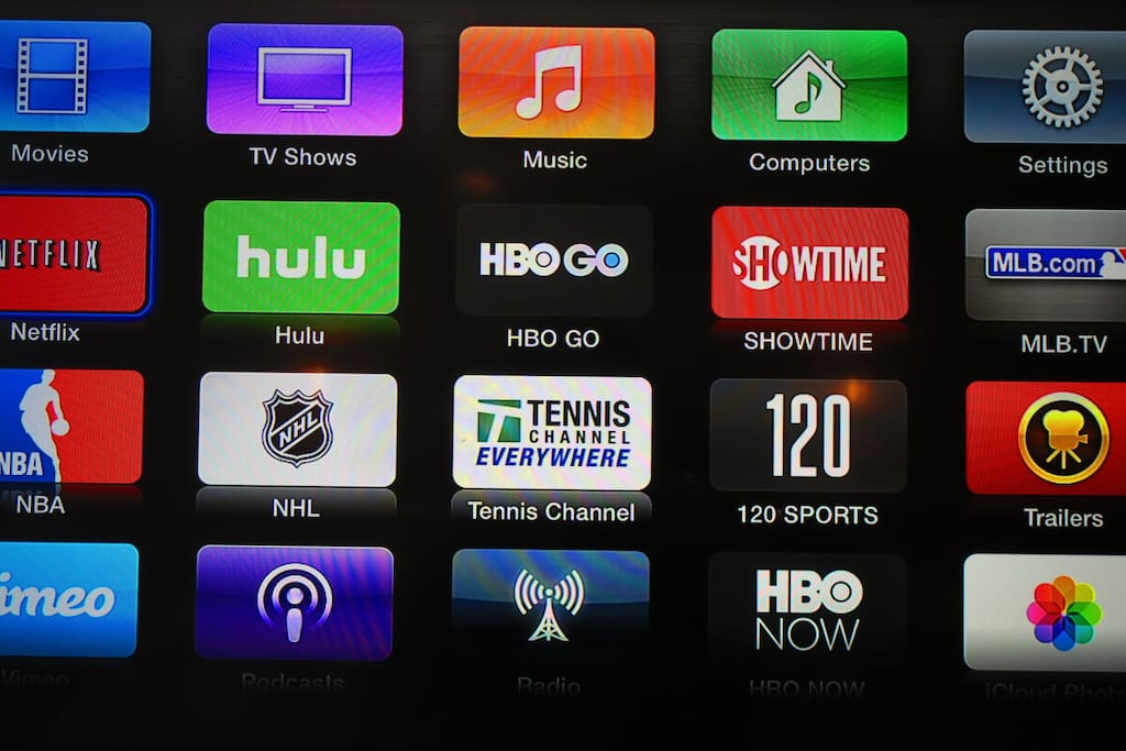 Apple TV + HBO + Netflix