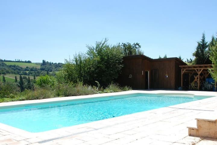 Secluded Mansion in Miribel with Swimming Pool