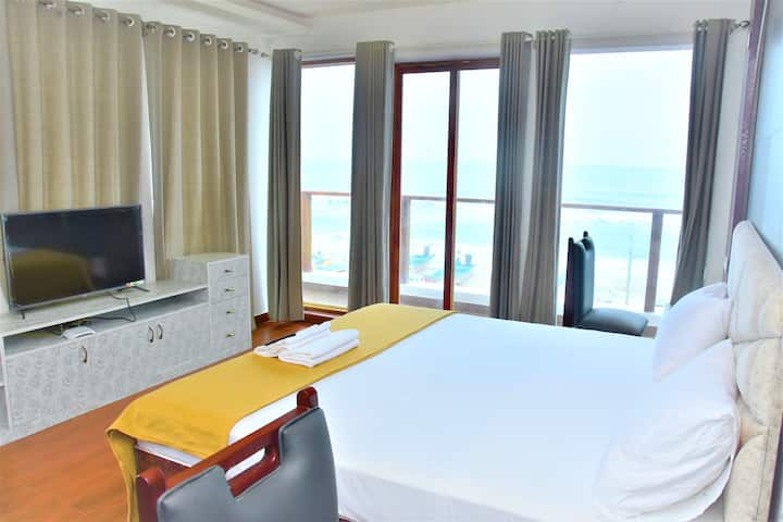 Premium Beach Facing Room in Umino Beach Resort