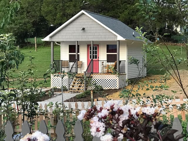 Raspberry Cottage on JindyDale Farms