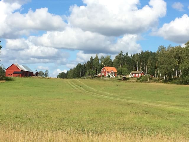 Genuine cottage on the countryside near Stockholm