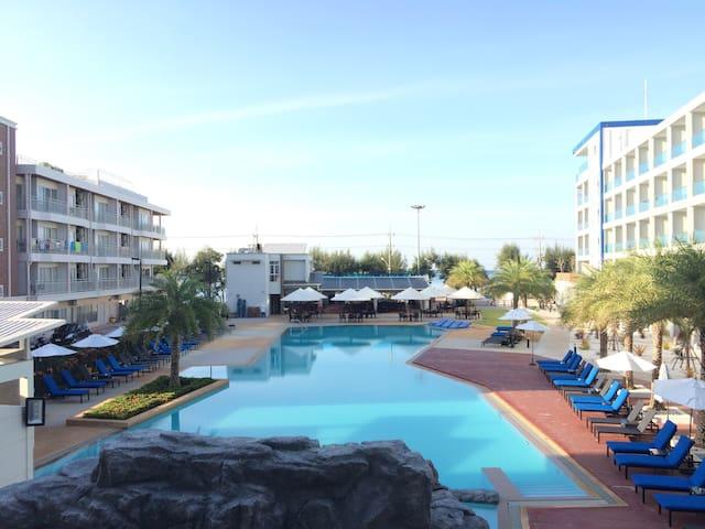 Grand Blue BestFamily Sea&Pool view 2BR apart 56m2