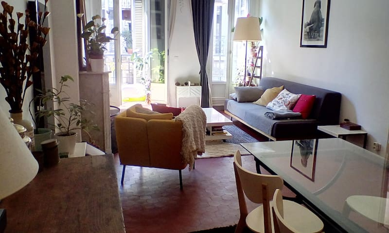 Grand T2 au coeur de Marseille - Marseille - Apartment