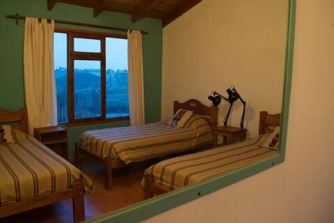 Cama en habitación compartida en Bla! Lodge